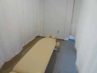 施術スペースのプライバシー